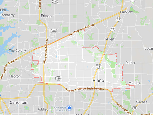 Map Of Plano Texas And Surrounding Areas My Blog - Map north texas cities